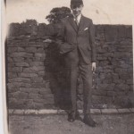 Edwin in school uniform, Easter 1926. He would have been a couple of months shy of his 18th birthday.