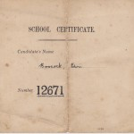 School Certificate Examination July 1924