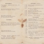 Calendar Michaelmas Term 1925