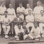School Cricket Team (Edwin Boocock back row second from left)